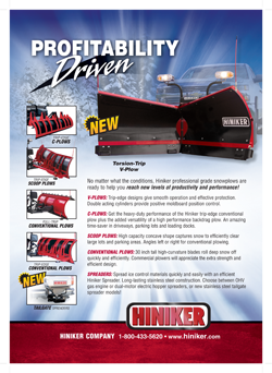 Hiniker Snow Plows